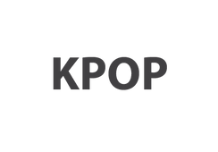 Image of the word Kpop