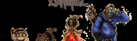 Image of Junkyard Zombiez characters
