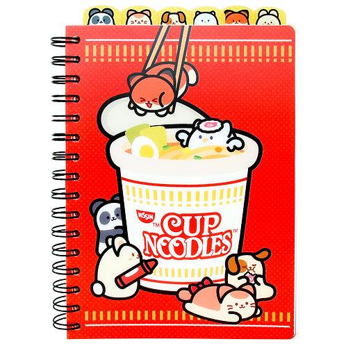 Nissin Cup Noodles™ | Index Notebook
