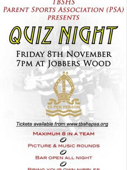 PSA Quiz Night Ticket