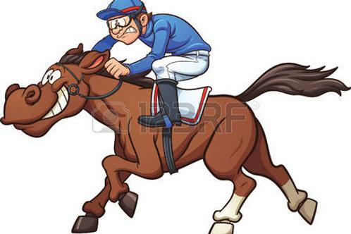 Race No 4 Horses