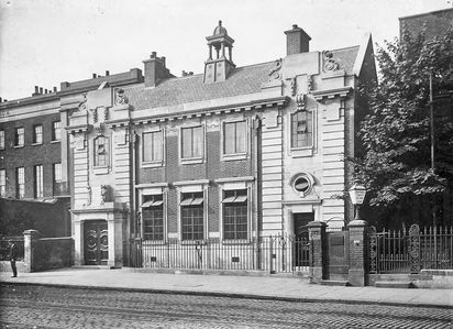 New Cross Library - Opened 24 July 1911.