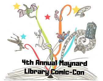 4th Annual Maynard Library Comic Con Sma