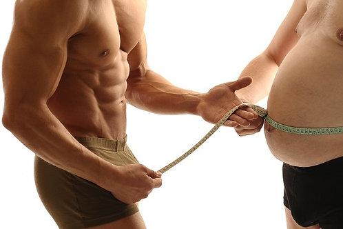 Tréningový a stravovací plán na chudnutie s detoxom + DARČEK 500g Proteín