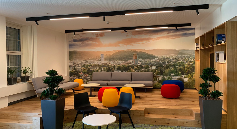 Eröffnung AXA Lounge