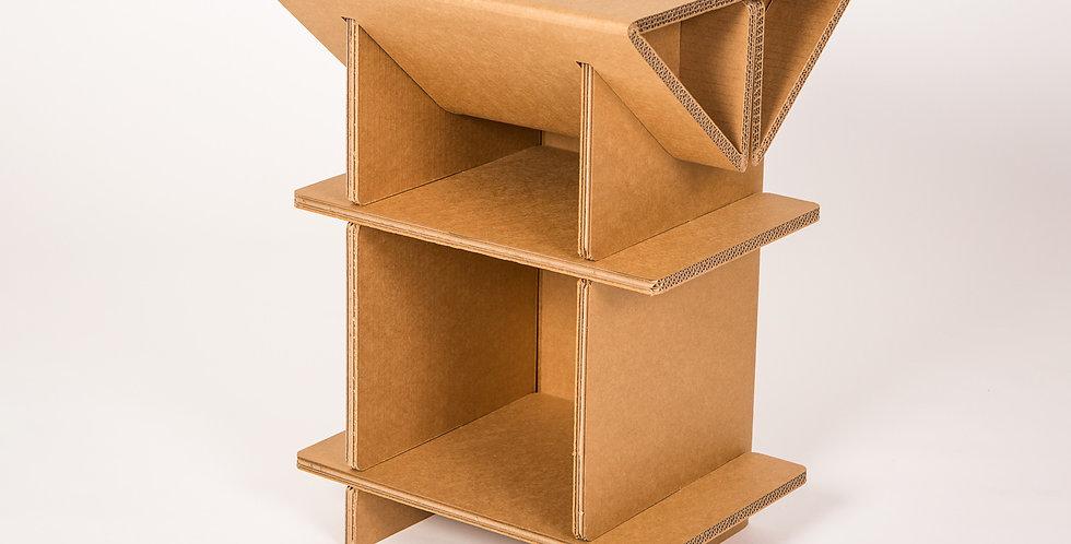 Cardboard End Table
