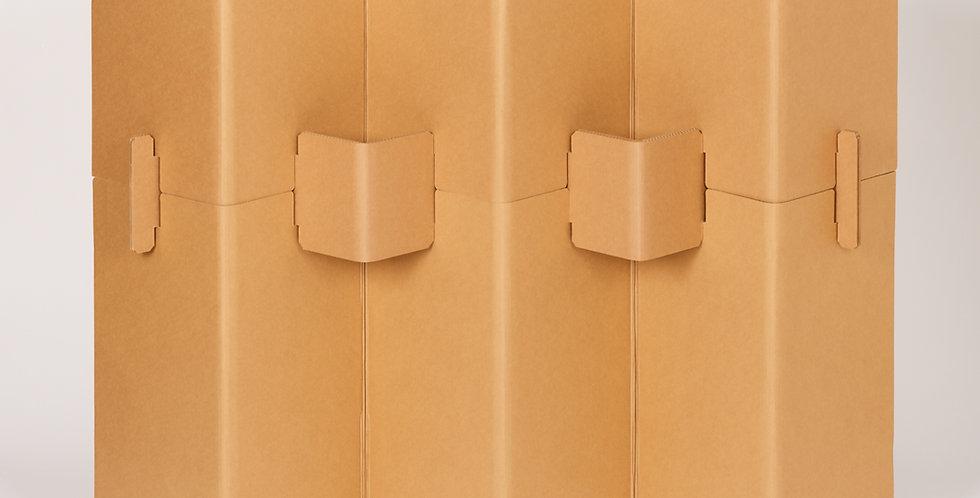 Cardboard Room Divider