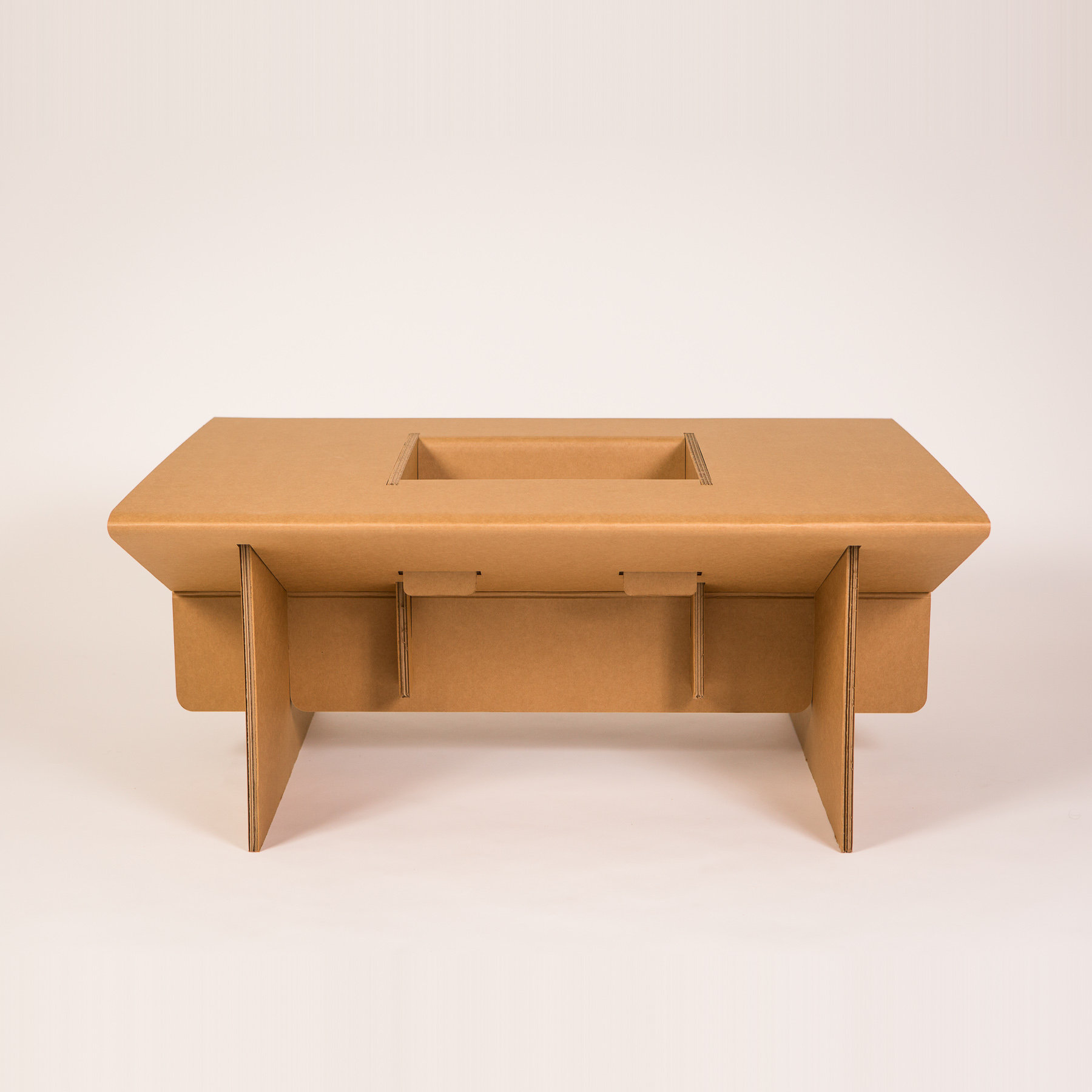 Cardboard Play Table Chairigami