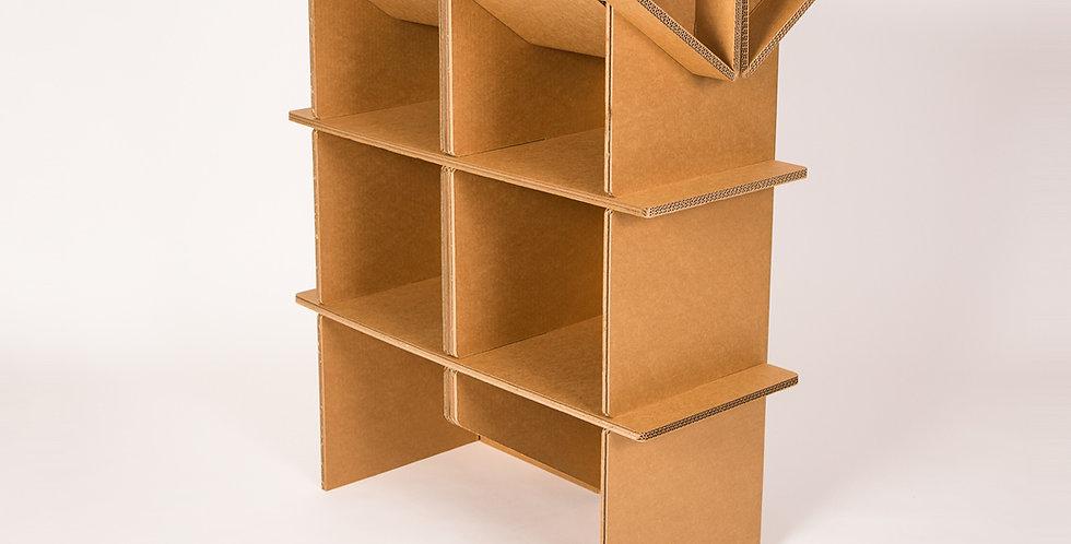 Cardboard Lab Desk