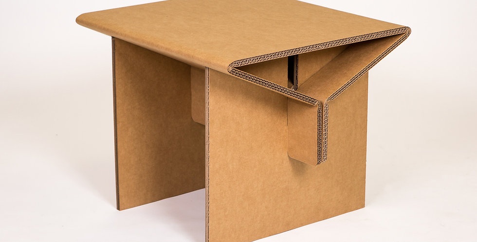 Cardboard Side Table