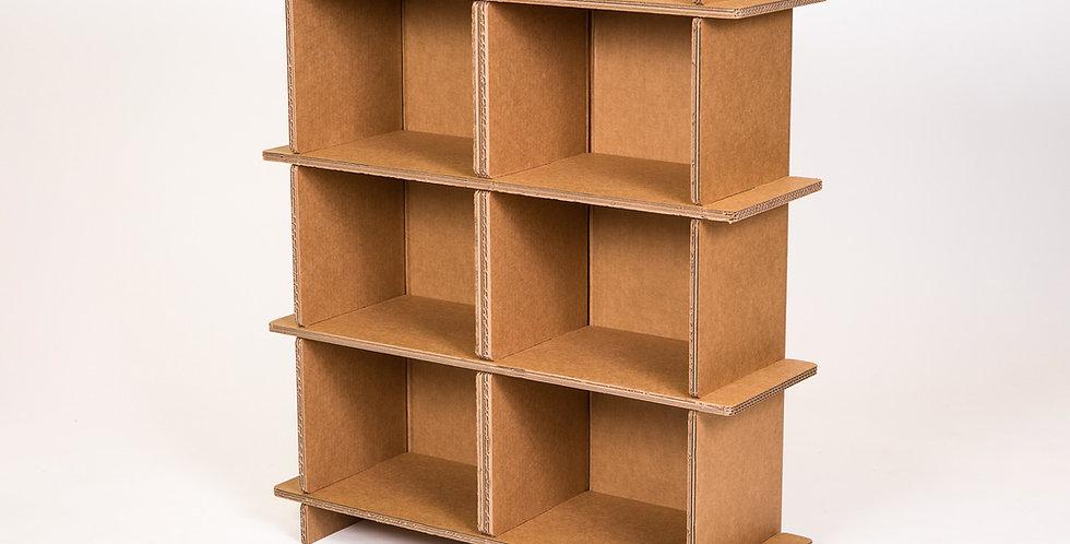 Cardboard Double Shelf