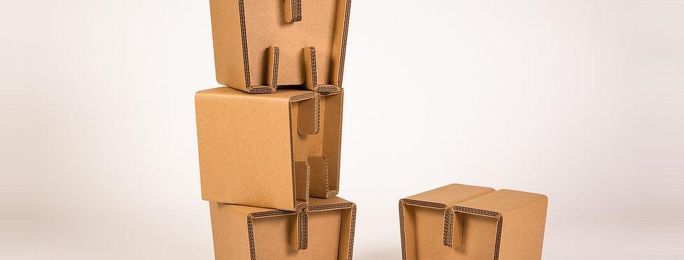Cardboard Kid's Stools