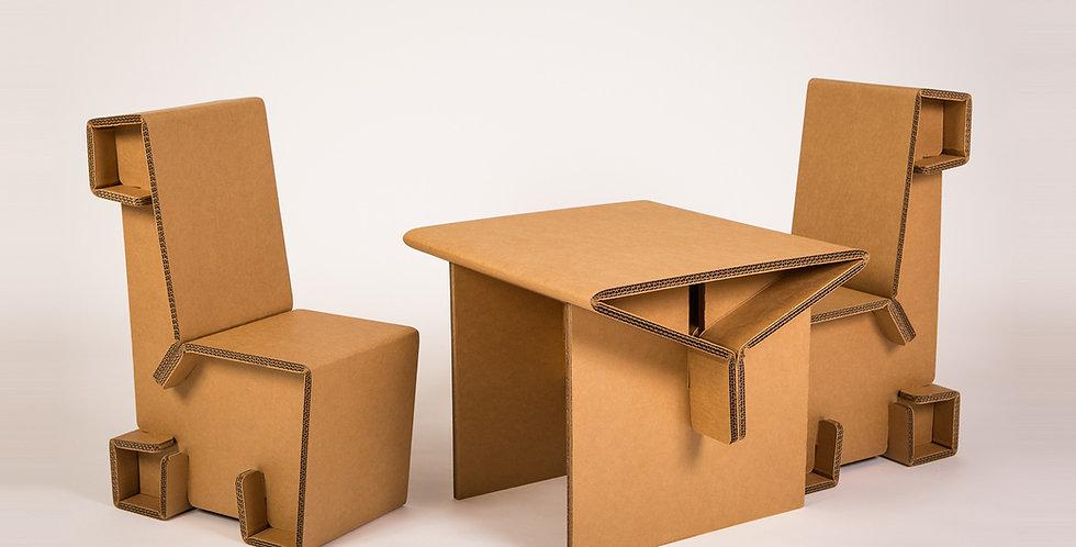 Cardboard Kid's Furniture Set