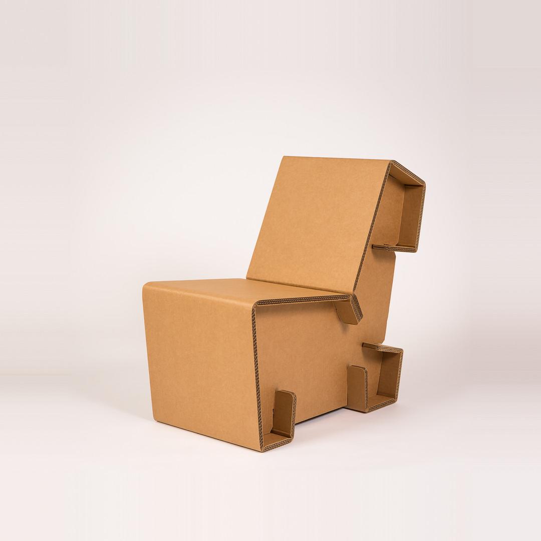 Cardboard Lounge Chair