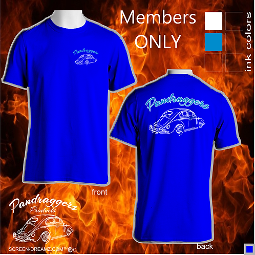 Pandraggers Club Members Only Shirt