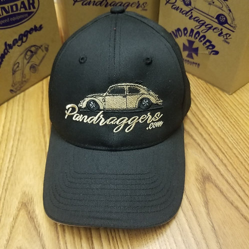 Black and Tan Hat with free shop rag