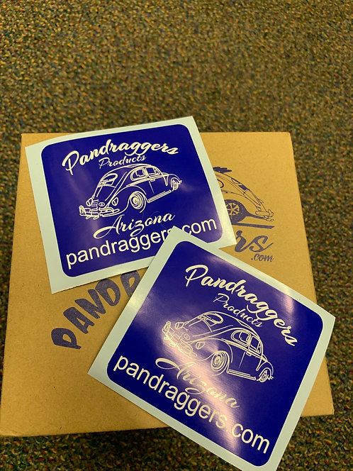 Pandraggers Sticker set