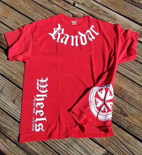 Randar Wheel Shirt Red