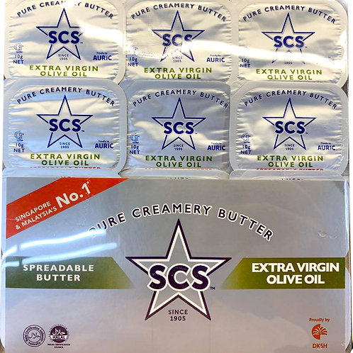 SCS Spreadable Butter - Extra Virgin Olive Oil & Canola Oil 12 x 10g