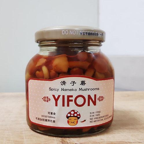 Yifon Spicy Mushrooms - Nameko 170g
