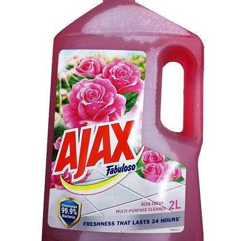 Ajax Fabuloso Multi-Purpose Cleaner - Rose Fresh 2L