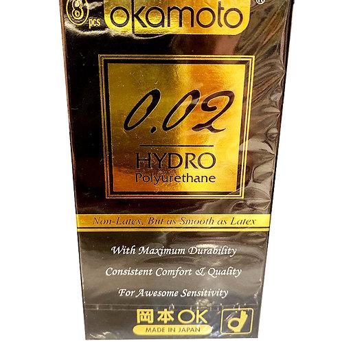 Okamoto Condom - Hydro Polyurehthane 8pcs