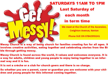 Messy Church on Saturdays