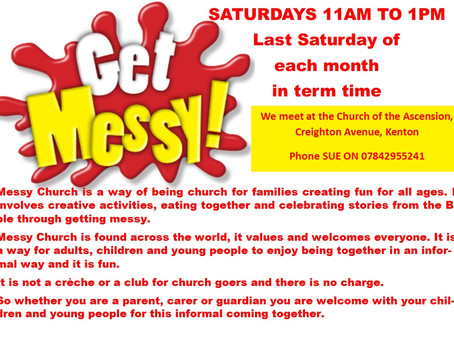 Messy Church on Saturdays