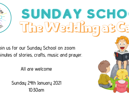 Wedding at Cana - Sunday School