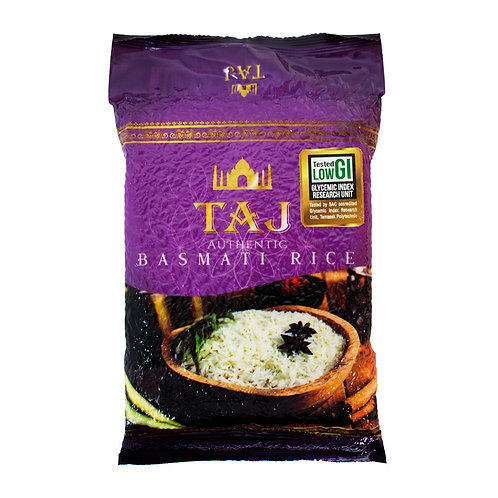 Taj Basmati Low GI Rice 5kg
