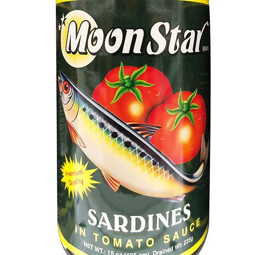 Moon Star Sardines - Tomato Sauce 425g