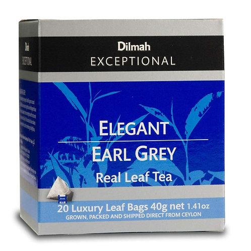 Dilmah Exceptional Tea Bags - Elegant Earl Grey 20 x 2g
