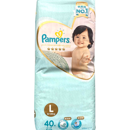 Pampers Premium Care Diapers - L (9 - 14kg)