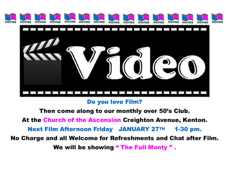 Film Club - January 27th