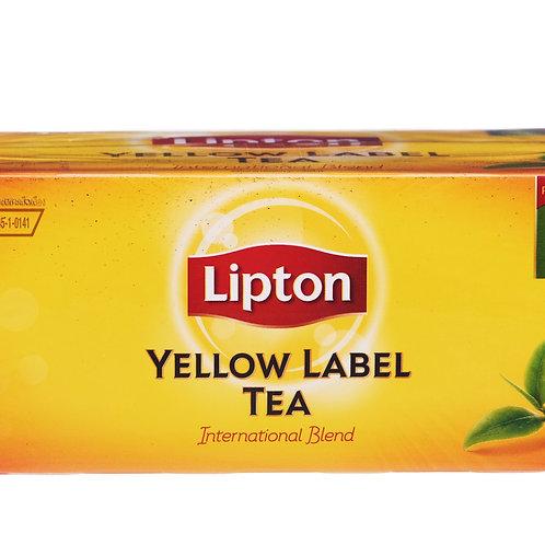 Lipton Yellow Label Tea Bags - International Blend 50 per pack