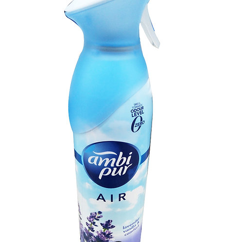 Ambi Pur Air Effects Freshener Spray - Lavender Vanilla & Comfort 275g