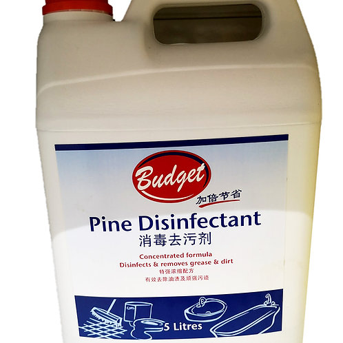 Budget Pine Disinfectant 5L