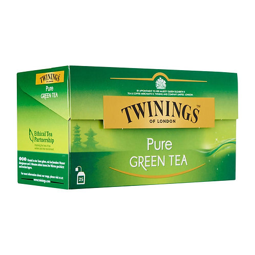 Twinings Teabags - Pure Green Tea 25 x 2g