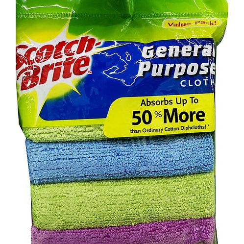3M Scotch-Brite General Purpose Cloths 5 per pack