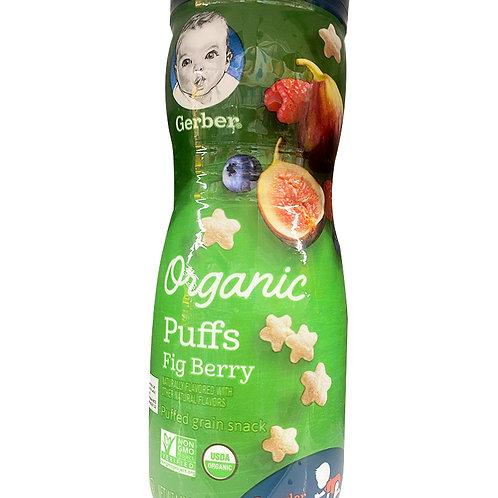 Gerber Organic Baby Puffs - Fig Berry