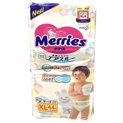 Merries Tape Diapers - XL (12 - 20kg)