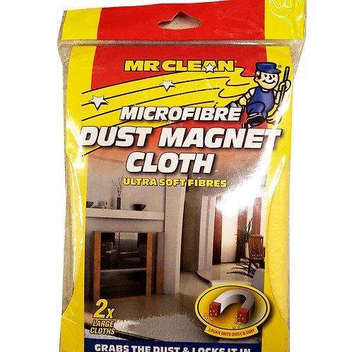 Mr Clean Microfibre Cloths - Dust Magnet (Large) 2 per pack