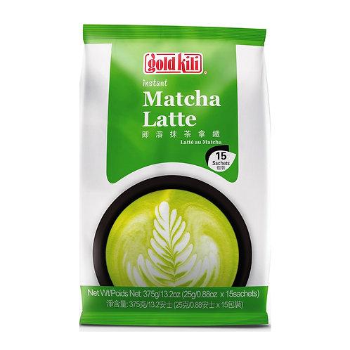 Gold Kili Instant Latte Drink - Matcha 15 x 25g