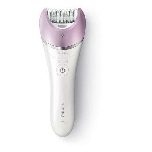 Satinelle Advanced: First epilator with S.shaped handle (5 Accessories)