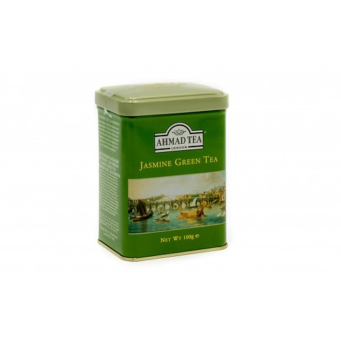 Ahmad Loose Tea Caddy - Jasmine Green Tea 100g