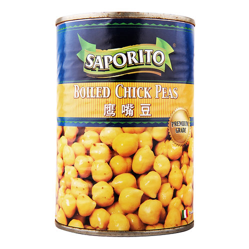 Saporito Can Food - Boiled Chick Peas 400g