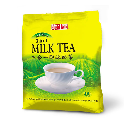 Gold Kili 3 in 1 Instant Milk Tea 30 x 18g