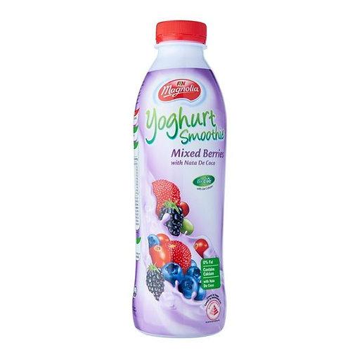 F&N Magnolia Yoghurt Bottle Smoothie - MixedBerries & NatadeCoco 800ml