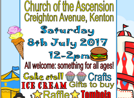 Summer Fayre - 8th July 12pm
