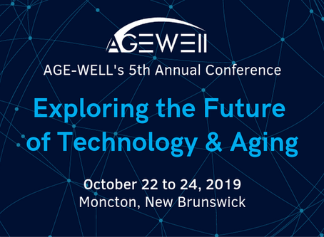 AGE-WELL's 5th Annual National Conference